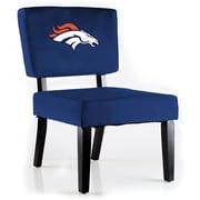 Imperial NFL Side Chair; Denver Broncos