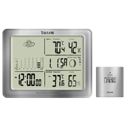 Taylor Taylor Precision Products Wireless Weather Forecaster Wall Clock