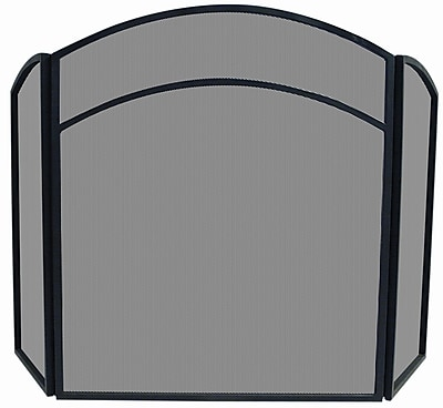 Uniflame 3 Panel Wrought Iron Center Arch