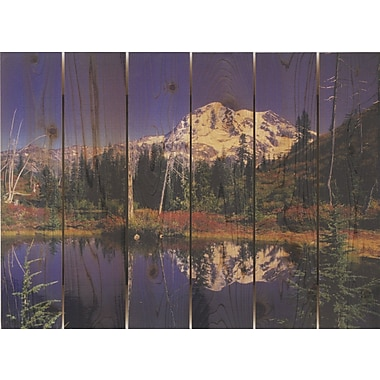 Gizaun Art Mirror Lake Photographic Print; 33 x 24