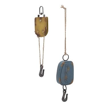 Woodland Imports 2 Piece Metal Hook Set