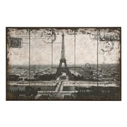 Woodland Imports Paris Eiffel Tower Painting Print