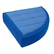 Wesco NA Cocoon Kid's Floor Cushion Cover; Dark Blue / Light Blue