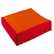Wesco NA Cocoon Kid's Floor Cushion Cover; Red / Orange