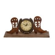 Woodland Imports Boot Clock w/ Unique Design
