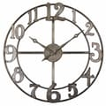 Uttermost Oversized 32.25'' Delevan Wall Clock