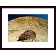 Printfinders Rock and Tailings by John K. Nakata Framed Photographic Print; Black