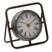 Woodland Imports Beautiful Metal Clock