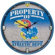 Wincraft Collegiate 18'' NCAA High Def Wall Clock; Kansas