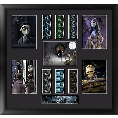 Trend Setters Corpse Bride Montage FilmCell Presentation Framed Graphic Art