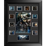 Trend Setters Batman The Dark Knight Rises Mini Montage FilmCell Presentation Framed Memorabilia; No