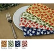 Pacific Table Linens Denim Table Linen and Placemats Cercie Dinner Napkin (Set of 2); Bandana