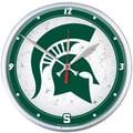 Wincraft Collegiate 12.75'' NCAA Wall Clock; Michigan State