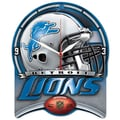 Wincraft NFL High Def Plaque Wall Clock; Detroit Lions