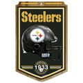 Wincraft NFL Graphic Art Plaque; Pittsburgh Steelers