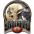 Wincraft NFL High Def Plaque Wall Clock; New Orleans Saints
