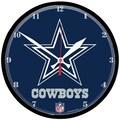 Wincraft NFL 12.75'' Wall Clock; Dallas Cowboys