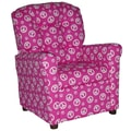 Brazil Furniture Children's Recliner; Peace Pink