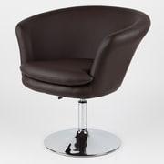 Whiteline Imports Kristina Chair; Chocolate