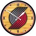 Wincraft NBA 12.75'' Wall Clock; Portland Trail Blazers
