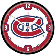 Wincraft NHL 12.75'' Wall Clock; Montreal Canadiens