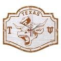 Wincraft NCAA Texas University High Def Plaque Wall Clock