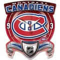 Wincraft NHL High Def Plaque Wall Clock; Montreal Canadiens
