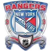 Wincraft NHL High Def Plaque Wall Clock; New York Rangers