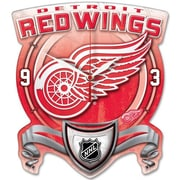 Wincraft NHL High Def Plaque Wall Clock; Detroit Red Wings