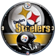Wincraft NFL 18'' High Def Wall Clock; Pittsburgh Steelers