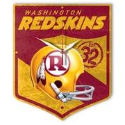 Wincraft NFL High Def Plaque Wall Clock; Washington Redskins