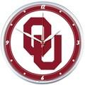 Wincraft Collegiate 12.75'' NCAA Wall Clock; Oklahoma