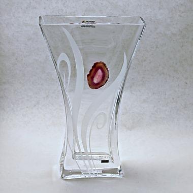 Womar Glass Precious Stone Agate Series II Vase