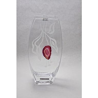 Womar Glass Precious Stone Agate Series I Vase