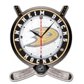 Wincraft NHL Plaque Wall Clock; Anaheim Ducks