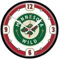 Wincraft NHL 12.75'' Wall Clock; Minnesota Wild 1