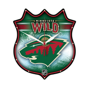Wincraft NHL Minnesota Wild Plaque Wall Clock