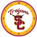 Wincraft Collegiate 12.75'' NCAA Wall Clock; University of Southern California