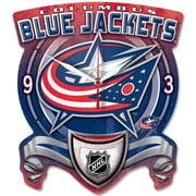 Wincraft NHL High Def Plaque Wall Clock; Columbus Blue Jackets