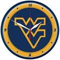 Wincraft Collegiate 12.75'' NCAA Wall Clock; West Virginia