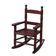 Gift Mark Child's Slat Rocking Chair; Cherry