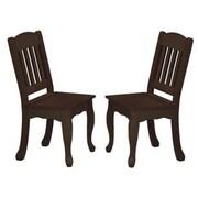 Teamson Kids Windsor Kids Desk Chair (Set of 2); Espresso