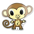 Trend Lab Chibi Zoo Monkey Wall Clock