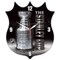 Wincraft NHL High Definition Plaque Wall Clock; Stanley Cup Generic