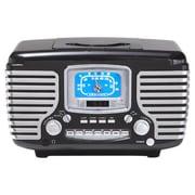 Crosley Corsair CD / Radio Alarm Clock; Black