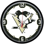 Wincraft NHL 12.75'' Wall Clock; Pittsburgh Penguins