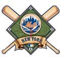 Wincraft MLB High Def Plaque Wall Clock; New York Mets
