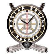 Wincraft NHL Plaque Wall Clock; Boston Bruins