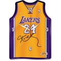 Wincraft NBA Jersey High Def Plaque Wall Clock; Los Angeles Lakers - Kobe Bryant
