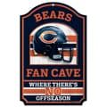 Wincraft NFL Graphic Art Plaque; Chicago Bears
